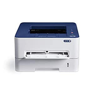 Xerox Phaser 3260/DNI Monchrome Wireless Laser Printer (White and Blue)