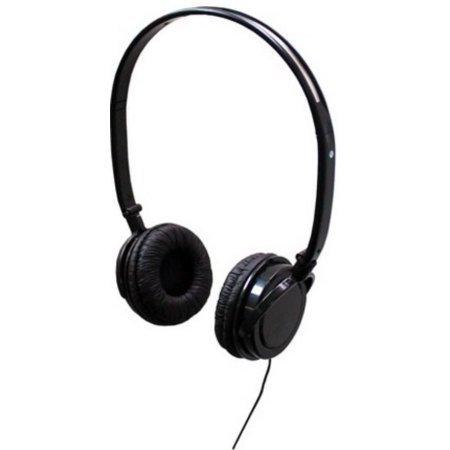 Travel Time Adult Lightweight On-Ear Headphones Ad...