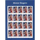USPS Mister Mr. Rogers one Sheet of 20 Forever USPS Postage Stamp Celebration Children Party