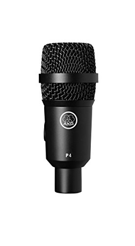 AKG Pro Audio P4 Instrument Dynamic Microphone, Cardioid by AKG Pro Audio