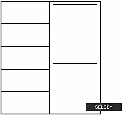 Selsey Risca – Moderno Armario de Puertas correderas: Amazon.es: Hogar