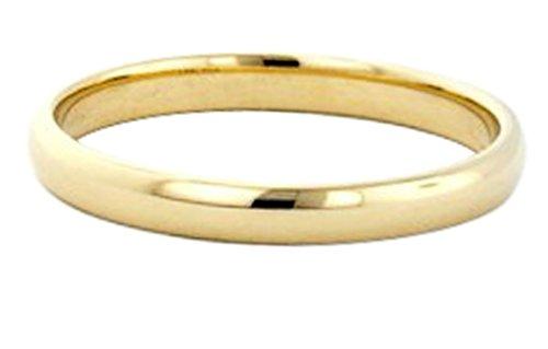 14k Gold Filled 3mm Plain Wedding Band Thumb Ring (3mm Thumb Ring)