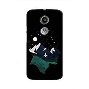 Cover It Up - Lost in Head Moto X2 Hard Case