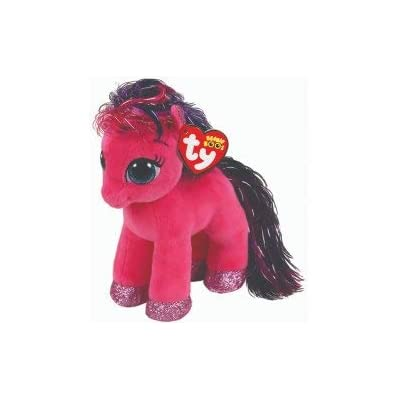 "Ty Beanie Boos 6"" Ruby Magical Pony, Perfect Plush!: Toys & Games"