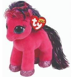 67f2fcacffa Image Unavailable. Image not available for. Color  Ty Beanie Boos 6 quot   RUBY Magical Pony ...