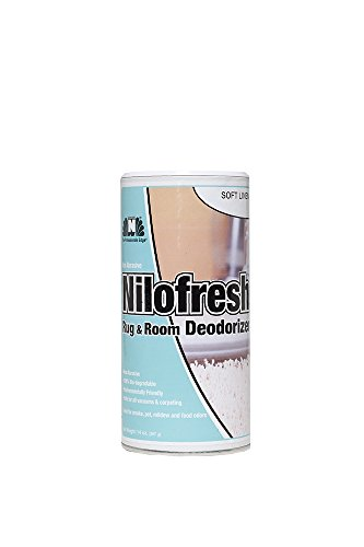 Nilodor 12 NFSL Nilofresh Rug and Room Deodorizer, Soft Linen, 14 oz. ()