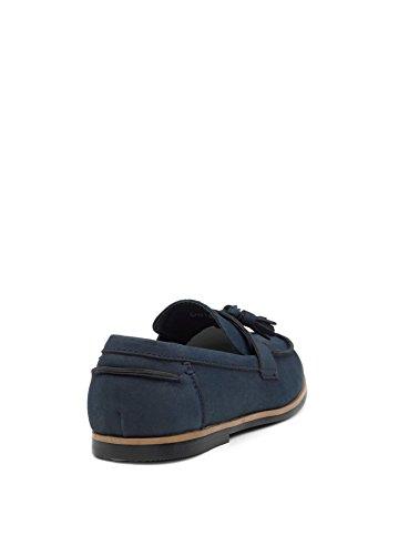 Paisley of London Jungen Slipper, Blau - Navy - Größe: 24