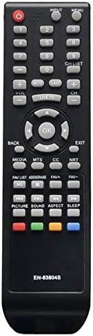 EN-83804S 交換用リモコン 対応機種: シャープ TV LC32Q3170U LC32Q3180U LC-32Q3180U LC40P3000U LC-40P3000U LC40Q3000U LC-40Q3000U LC43Q3000U LC-43Q3000U LC-40Q307U LC-65Q6020U RT208306。