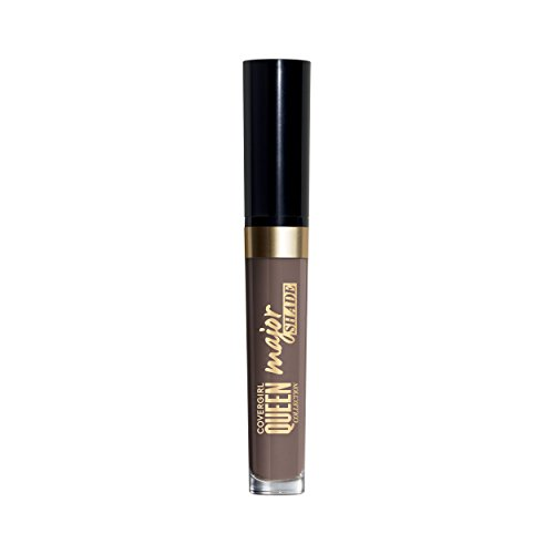 (COVERGIRL Queen Collection Major Shade Matte Liquid Lipstick, Clean Slate, 0.11 Pound (packaging may)