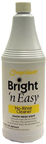 Congoleum Bright 'N Easy No Rinse Cleaner - 32 Ounce Bottle