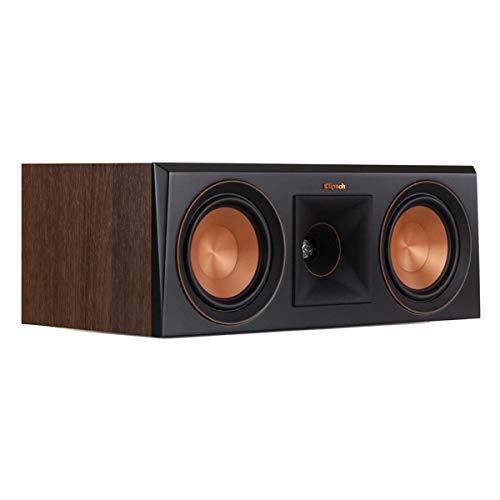 - Klipsch RP-500C Center Channel Speaker Walnut-Each