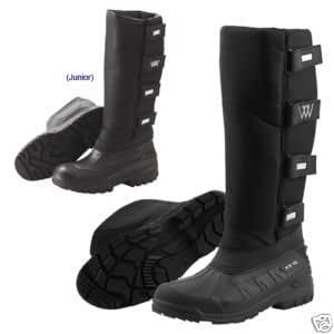 Woof Wear Long Easy Close Boots Size 8
