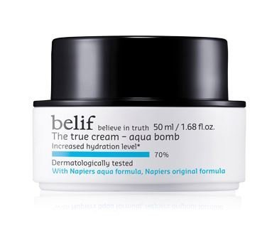 belif The True Cream Aqua Bomb [Korean Import] Aqua Moisturizing Night Cream