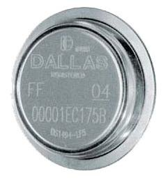 MAXIM INTEGRATED PRODUCTS DS1985-F5+ IBUTTON, 16KBIT, EPROM, CAN