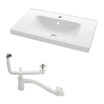 Ikea Odensvik Single Wash Basin 80x49x6 Cm Amazon Co Uk