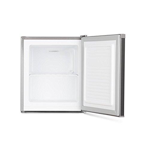 Klarstein Garfield Eco • Mini Congelador 4 estrellas • Nevera 34 Litros capacidad • 117 kWh/año • 2 Niveles • Silencioso 41 dB • Rejilla extraíble ...