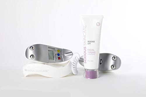 Microcurrent Skin Care Kit, High Frequency Facial Machine and Skin Care Products (Best Facial Toning System)