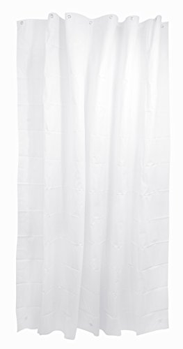 Lovely Kiera Grace Heavy Duty Mildew Free Hotel Grade Shower Curtain With Magnets And Metal