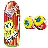 Socker Boppers ** Power Bop Combo ** Spongebob Squarepants ** 36 Inch Inflatable Bopper with Bopper Gloves