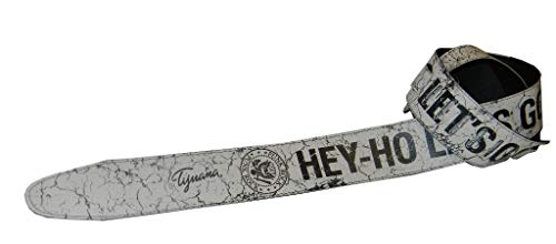 Punk Rock Hey Ho Let's Go The Ramones Guitar or Bass Strap (Eco-Leather)