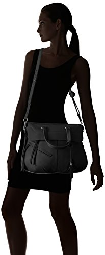 Large Satchel Nero Felax Womens Vince Camuto pw4ft