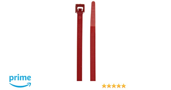 6a62688d8c0f Amazon.com: Morris Products 20984 Air Handling Cable Ties For Plenum Areas,  11.8