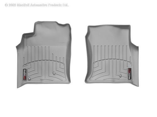 WeatherTech Custom Fit Front FloorLiner for Lexus GX470, Grey