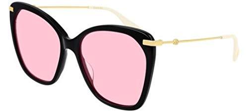 Gucci Gafas de Sol GG0510S BLACK/PINK mujer: Amazon.es: Ropa ...