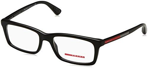 Prada Linea Rossa Men's PS 02CV Eyeglasses Matte Black 53mm by Prada