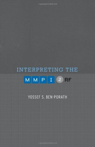 cheapest copy of interpreting the mmpi 2 rf by yossef s ben porath 081666966x 9780816669660. Black Bedroom Furniture Sets. Home Design Ideas