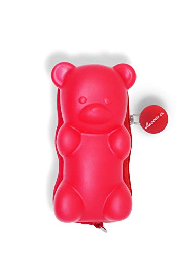decca c. Candy Scented Red Gummy Bear Cute Coin Purse Novelty.