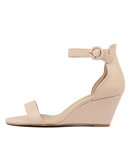 I LOVE BILLY Miriah Womens Shoes Medium Heels Summer Wedges NUDE SMOOTH