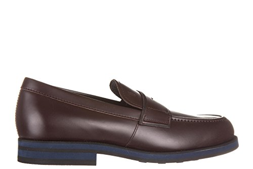 Tod's Mocassins Homme en Cuir Fondo Light XX Marron