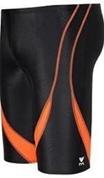 TYR Alliance Splice Jammer Swimsuit, Black/White, Size 30
