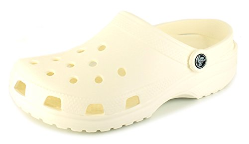 Crocs Adult Classic Clogs, White 7