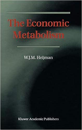 The Economic Metabolism