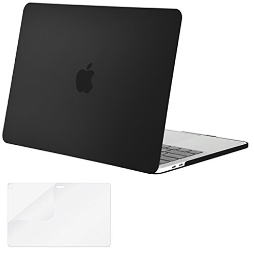 Buy Mosiso Plastic Hard Case with Screen Protector for Newest Macbook Pro 13 Inch with Retina Displa...