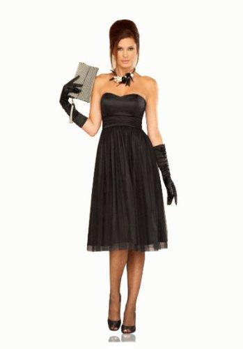 Young-Fashion - Vestido - Corsé - para mujer negro