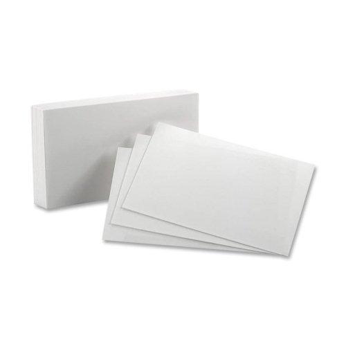 - Esselte Pendaflex Corporation Index Card, Blank, 8 Point, 90lb., 5