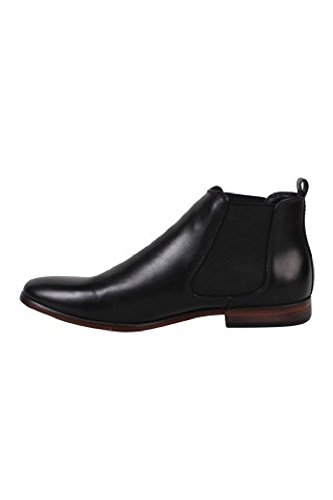 Galax Richelieur zapatos de hombre forro de piel sintética, diseño de pintauñas