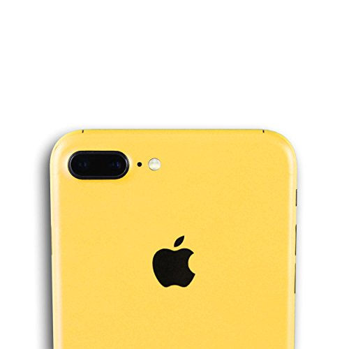 AppSkins Folien-Set iPhone 7 PLUS Full Cover - Color Edition yellow