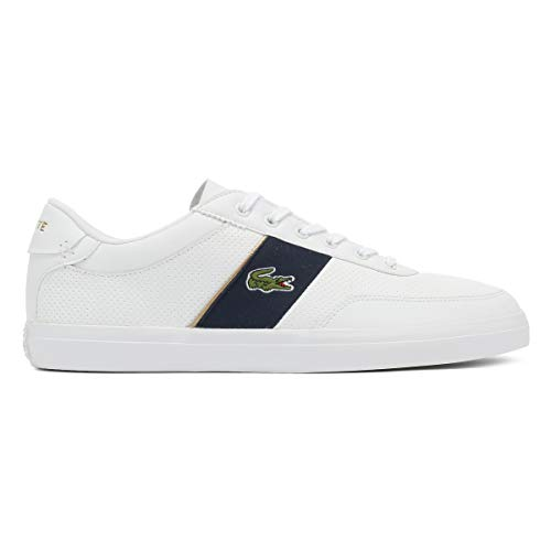 Lacoste master Homme Blanc Court baskets Chaussures vP17qrv
