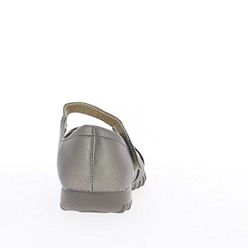 Comodidad de bronce de las mujeres zapatos