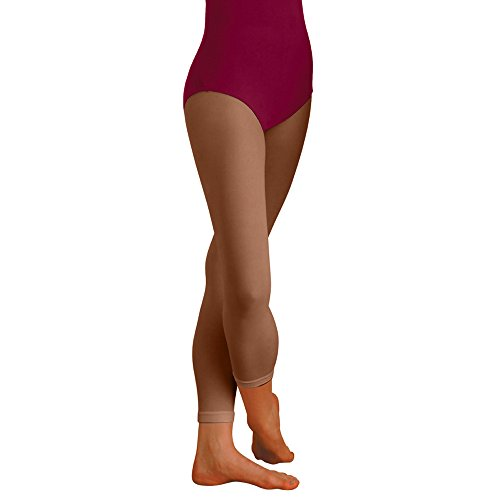 Body Wrappers Footless Tights, Suntan, Large/X-Large ()