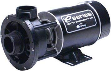 Waterway Plastics 3410410-15 1 hp 115V 1-Speed Spa Pump 1 2