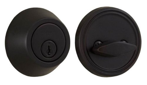 - Weslock Premiere Essentials 00271-1-1FR2D Series Deadbolt, Oil Rubbed Bronze