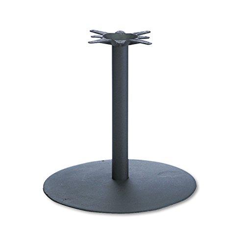 Hon Hospitality Table Base (HON BCR28P 22-Inch Diameter by 27-7/8-Inch Single Column Hospitality Base, Black)
