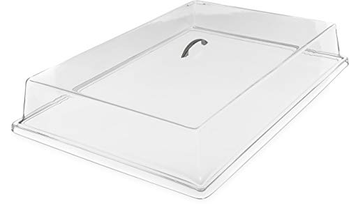Carlisle SC2507 Acrylic Pastry Tray Cover, Clear -