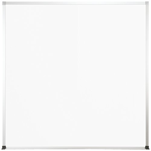 Best-Rite Magne-Rite Magnetic Whiteboard, Alum trim and tray, 4 x 4 feet (219ND) by Best-Rite