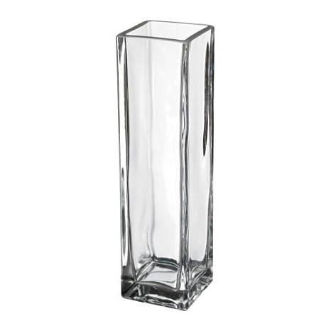 Rektangel Ikea Vaso In Vetro 21 Cm Trasparente Clear 21 Cm